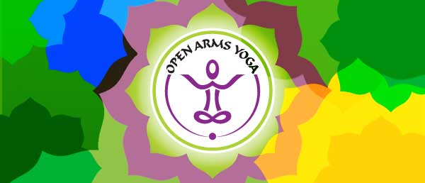 Open Arms Yoga newsletter header